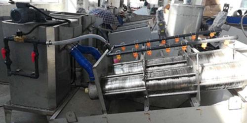 叠螺式污泥脱水机DWS型